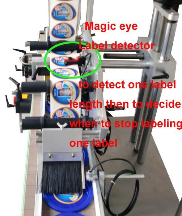 많은 부대 평면 상표 도포 구에 의하여 주문을 받아서 만들어지는 자동 접착 스티커 세륨