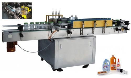 압력을 가한 병 자동적 인 스티커 도포 구, 550kg 자동 레테르를 붙이는 기계