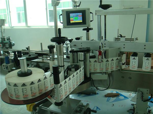 음료 스티커 상표 도포 구 병 레테르를 붙이는 기계 장치 간격 ≥ 30mm