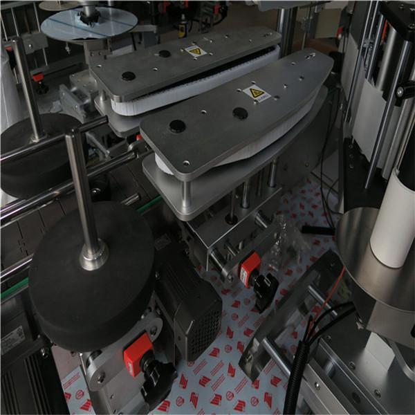 자동 접착 화장 용 정연한 병 레테르를 붙이는 기계 600kgs 무게