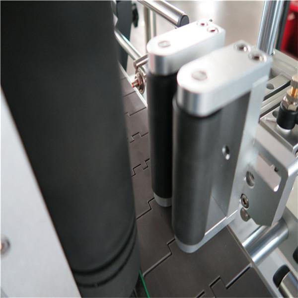 음료 / 매일 화학 제품을위한 Rond 병 자동적 인 레테르를 붙이는 기계