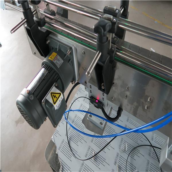 음료 / 매일 화학 제품을 가진 둥근 병 스티커 레테르를 붙이는 기계