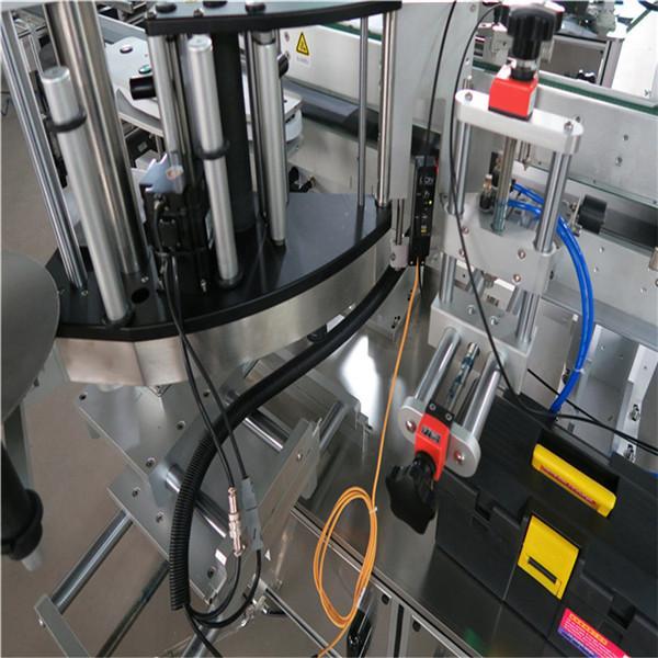 재를 가진 정면 정연한 병 레테르를 붙이는 기계 / 장비-방향