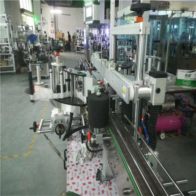 정연한 병 레테르를 붙이는 기계, 6 각형과 정연한 단지를위한 자동 접착 레테르를 붙이는 기계