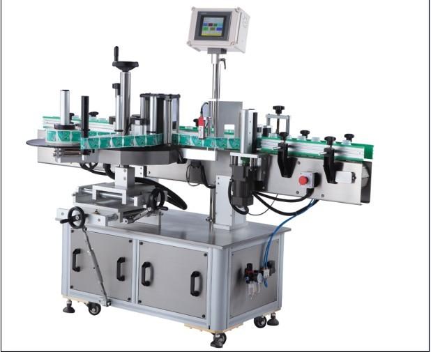 감압 성 둥근 병 스티커 레테르를 붙이는 기계, 상표 도포 구의 주위에 수직 포장