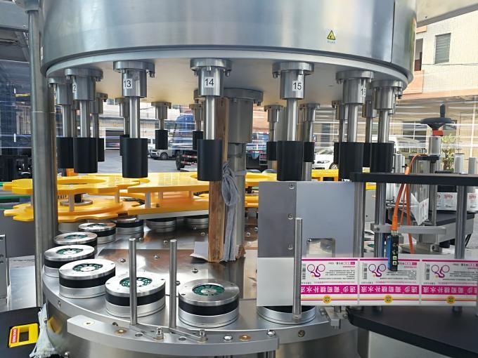 회전 기능을 가진 고속 회전하는 스티커 레테르를 붙이는 기계
