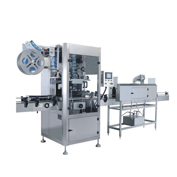 5.5 KW 컵 수축 슬리브 라벨링 기계