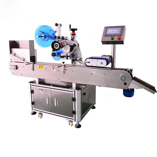 E 액체 병을위한 자동적 인 병 라벨 붙이는 사람 기계 고수준