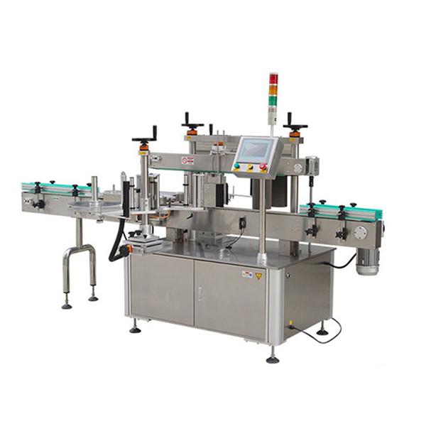 날짜 인쇄 기계를 가진 자동적 인 둥근 병 스티커 레테르를 붙이는 기계
