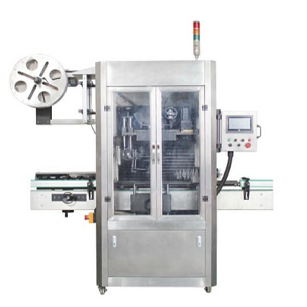사탕 병 수축 수축 소매 애완 동물 병 스티커 레테르를 붙이는 기계