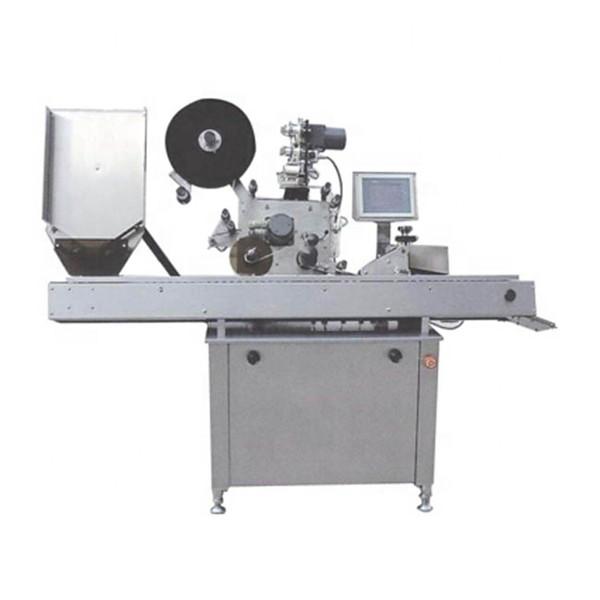 10ml 약 둥근 병을위한 경제 자동적 인 작은 유리 병 레테르를 붙이는 기계