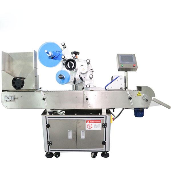 우수한 작은 유리 병 레테르를 붙이는 기계 60-음료 깡통을위한 분 당 300pcs