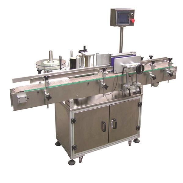 두 배 옆 종이 봉지를 가진 가동 가능한 스포크 자동적 인 스티커 레테르를 붙이는 기계
