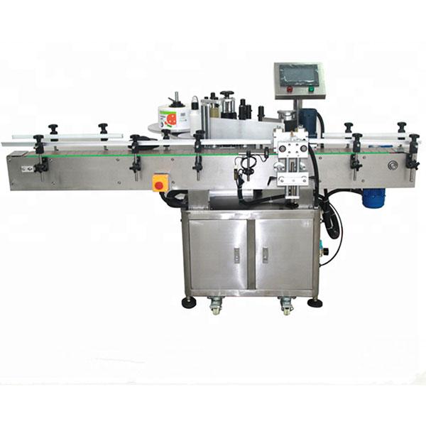 정면과 뒤 레테르를 붙이는 기계, 고속 라벨 붙이는 사람 580KG 무게