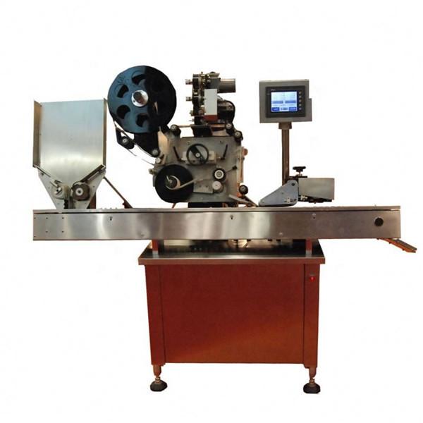 고속 Sus304 경제 자동적 인 단지 및 병 작은 유리 병 레테르를 붙이는 기계