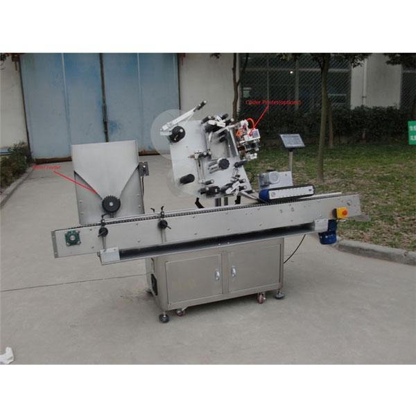 구강 액체 병 바이알 스티커 라벨링 기계