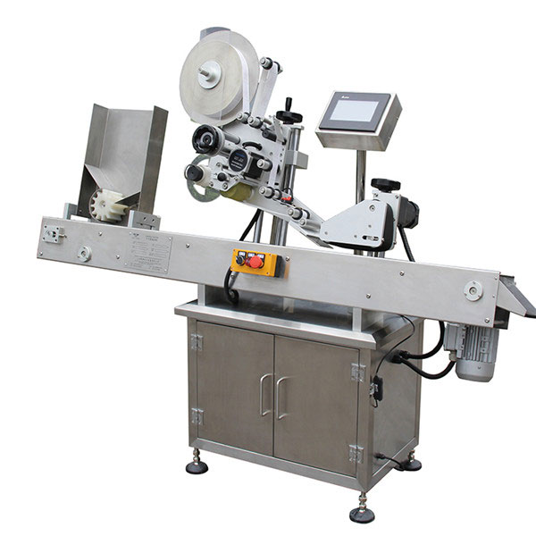 PLC 터치 스크린 제어 라벨 도포 기 기계