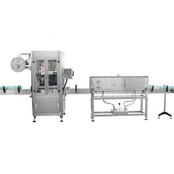 증기 발전기를 가진 플라스틱 컵 고속 수축 소매 레테르를 붙이는 기계