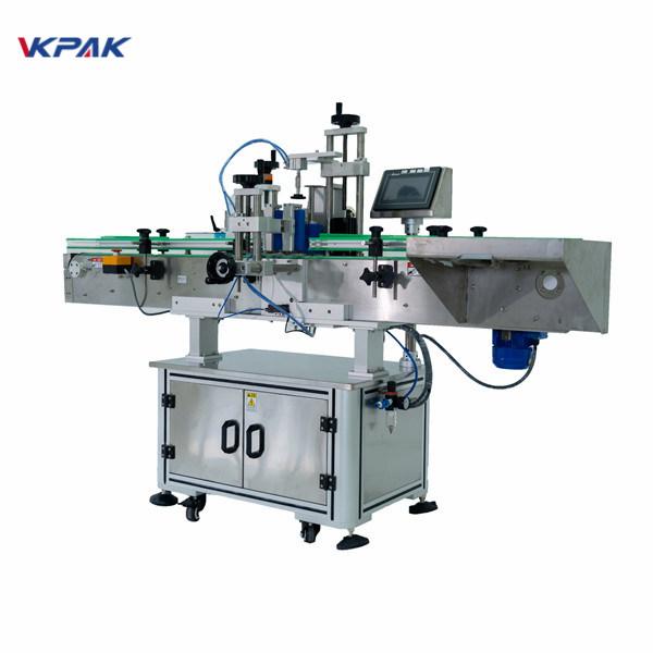포도주 맥주 약술 재산을위한 둥근 병 레테르를 붙이는 기계