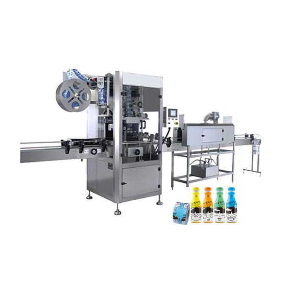 플라스틱 물병을위한 수축 소매 도포 구 기계 100 BPM