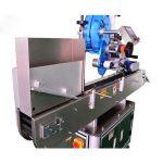앰풀 / 구두 액체 병을위한 스테인리스 작은 유리 병 스티커 레테르를 붙이는 기계