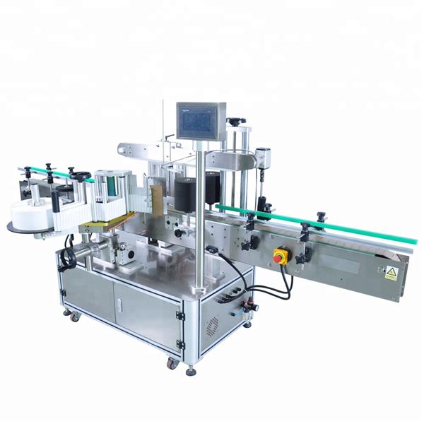 3 개의 레이블 자동 접착 라벨링 기계