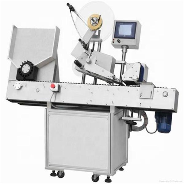 술병 작은 유리 병 레테르를 붙이는 기계 완전히 자동적 인 220V 2kw 쉬운 가동