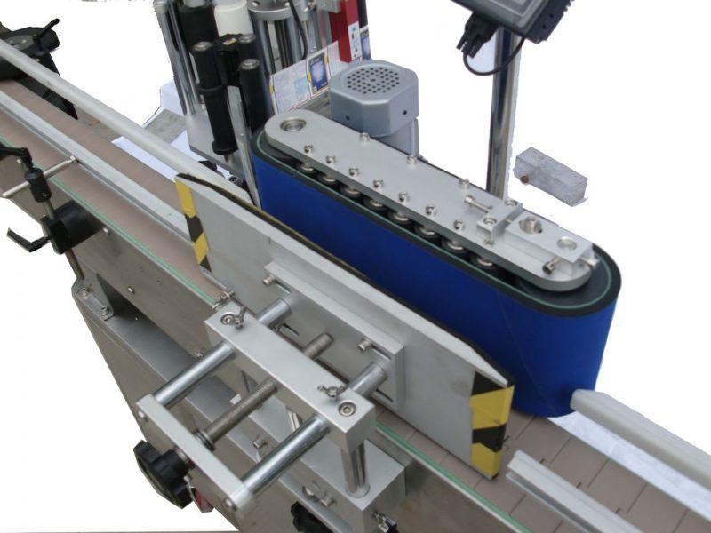 중국 HAY SUS304 자동 귀환 제어 장치 모터 자동적 인 둥근 병 레테르를 붙이는 기계 PLC 통제 협력 업체