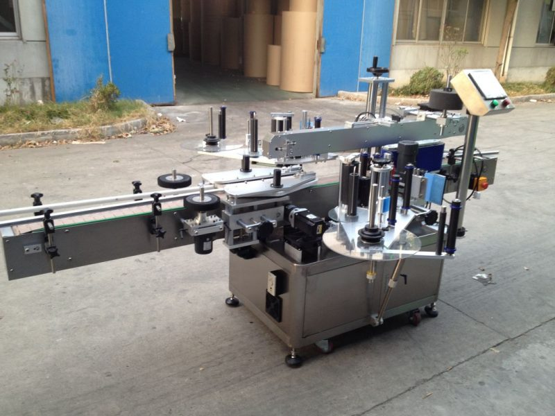 중국 압력을 가한 병 자동적 인 스티커 도포 구, 550kg 자동 레테르를 붙이는 기계 협력 업체