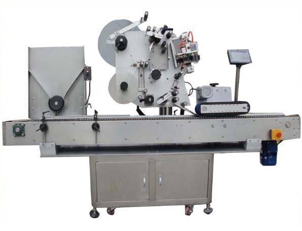 중국 코딩 기계, 화장품을위한 매니큐어 상표 스티커 기계를 가진 둥근 opp 레테르를 붙이는 기계 협력 업체
