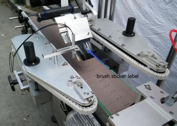 중국 HIG 맥주병을위한 자동적 인 둥근 병 스티커 레테르를 붙이는 기계는 모터 GPG 상표를 말했습니다 협력 업체