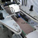 맥주 병 스포크 모터를위한 자동적 인 둥근 병 스티커 레테르를 붙이는 기계