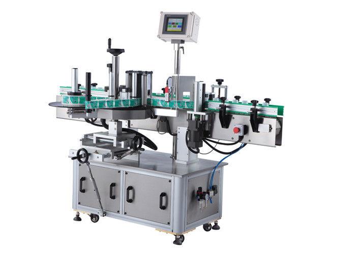 중국 음료 / 매일 화학 제품을 가진 둥근 병 스티커 레테르를 붙이는 기계 협력 업체