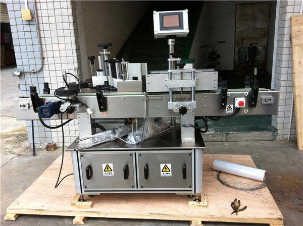 음료 기업을위한 과일 / 야채 주스 둥근 병 스티커 레테르를 붙이는 기계