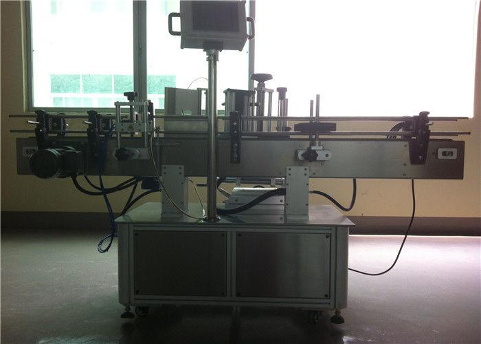 중국 세륨 애완 동물 음료 / 음료 기업을위한 둥근 병 스티커 레테르를 붙이는 기계 협력 업체