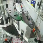 정연한 둥근 편평한 병을위한 자동적 인 두 배 옆 스티커 레테르를 붙이는 기계