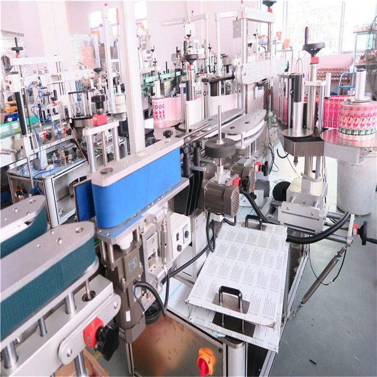 중국 세륨 정연한 병 레테르를 붙이는 기계는 상표 도포 구 5000-8000 B / H를 자동화했습니다 협력 업체