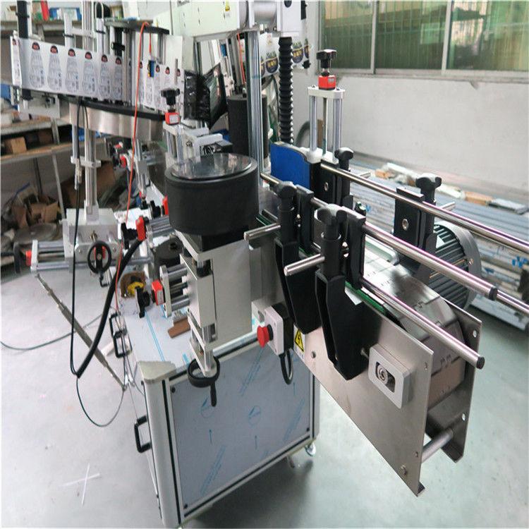 중국 타원형 병 레테르를 붙이는 기계, 스티커 상표 도포 구 샴푸 및 제 정성 라벨 붙이는 사람 협력 업체