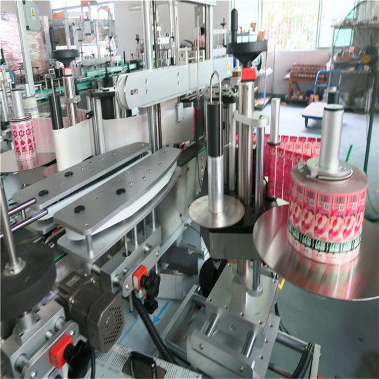 정면 뒤 자동적 인 스티커 레테르를 붙이는 기계 자동 접착 330mm 최대 외경