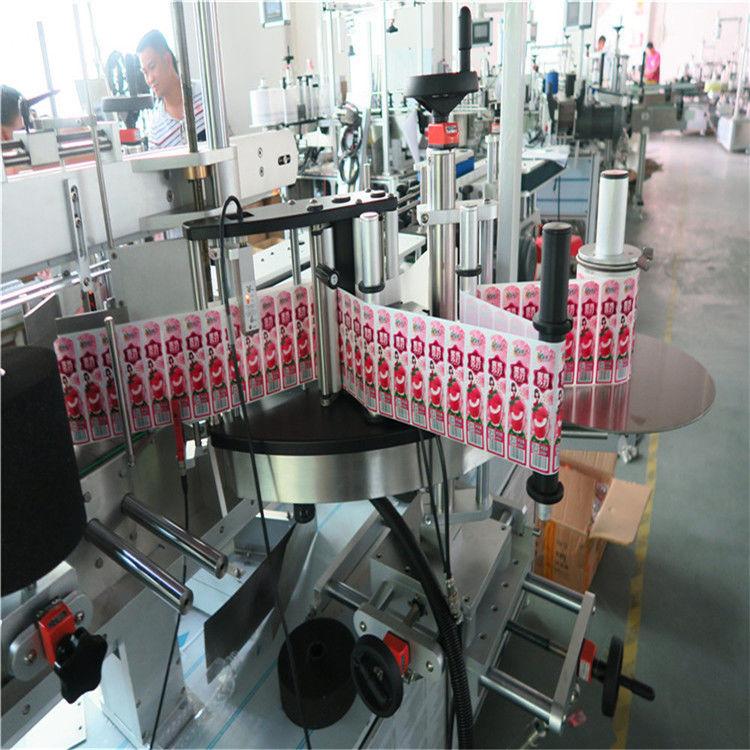 중국 다기능 Transparant 자동적 인 스티커 레테르를 붙이는 기계 0.1L-2L 양 병 협력 업체