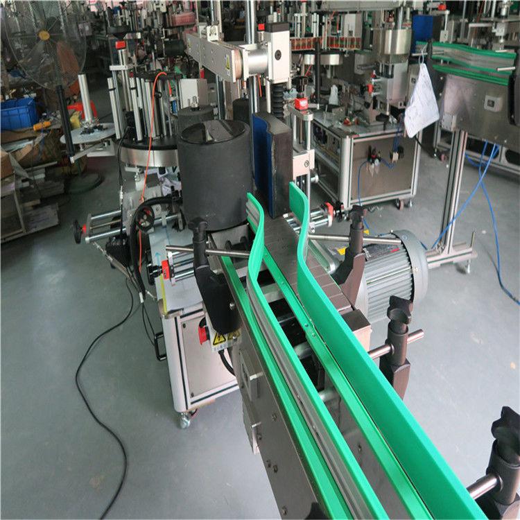 2 개의 자동 스티커 레테르를 붙이는 기계 양면 라벨 부착기 6000-8000 B / H