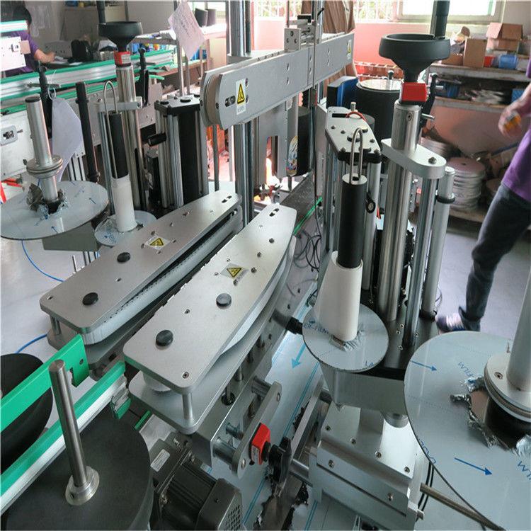 중국 가득 차있는 자동적 인 스티커 레테르를 붙이는 기계, 물병 정면 및 뒤 레테르를 붙이는 기계 협력 업체