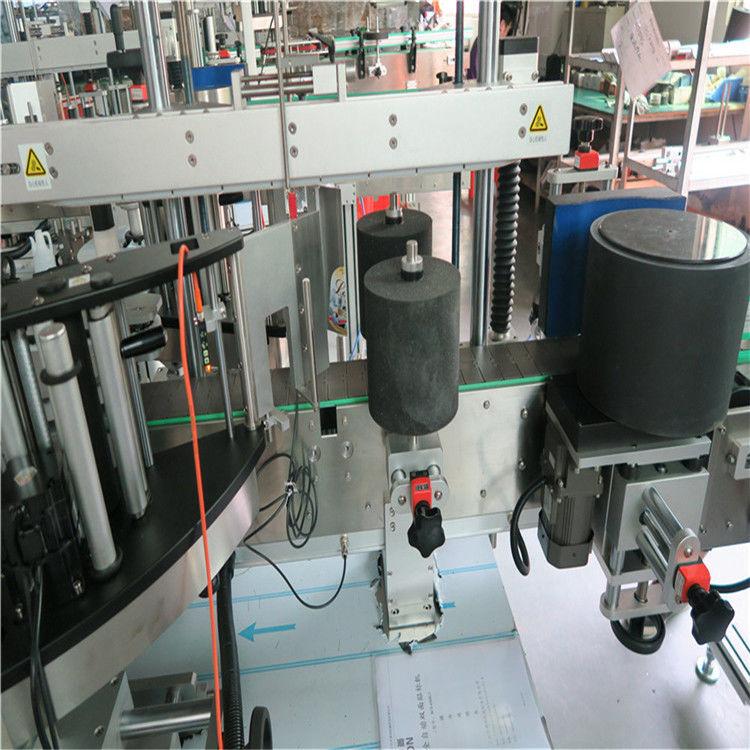 중국 호주 / 칠레 포도주 잔 병을위한 자동적 인 유리 병 레테르를 붙이는 기계 협력 업체
