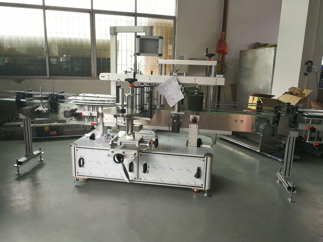 주스 / 술병 자동적 인 스티커 레테르를 붙이는 기계, 자동적 인 라벨 붙이는 사람 기계