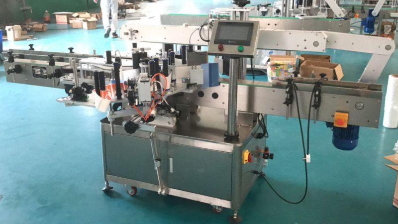중국 기계 장치, 레테르를 붙이는 스티커 기계를 수정을 가진 정면과 뒷쪽 상표 도포 구 협력 업체