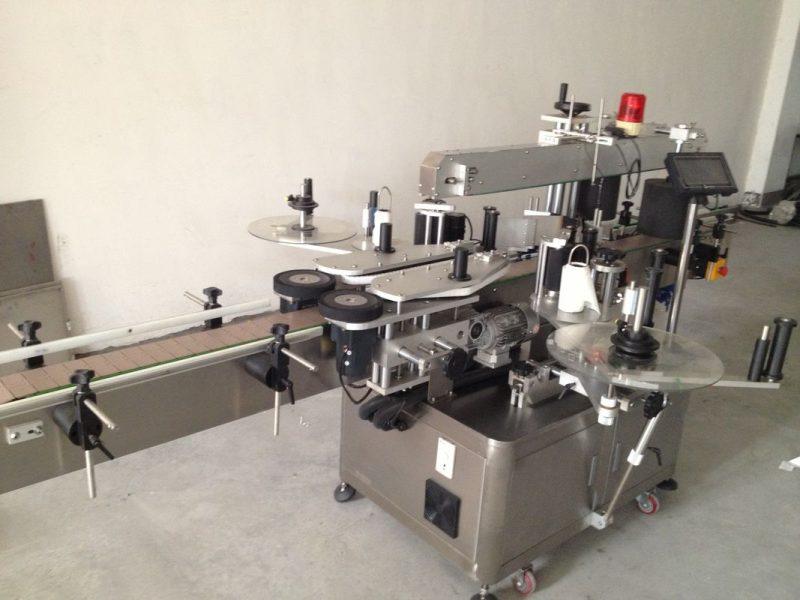 중국 맥주 병 두 배 옆 스티커 레테르를 붙이는 기계, 자동적 인 스티커 레테르를 붙이는 기계 협력 업체
