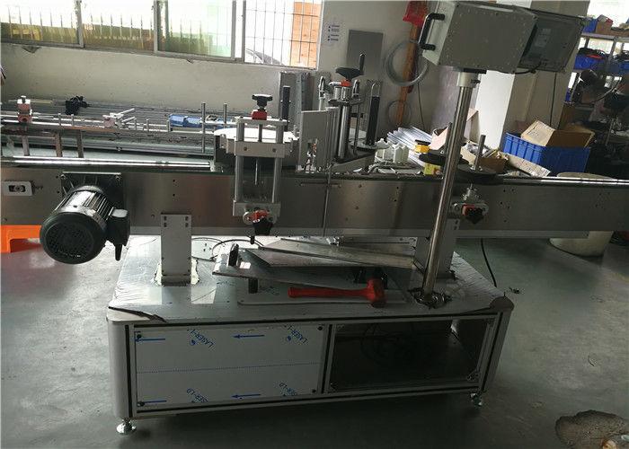 중국 자동 접착 스티커 타원형 병 레테르를 붙이는 기계에 의하여 주문을 받아서 만들어지는 상태 협력 업체