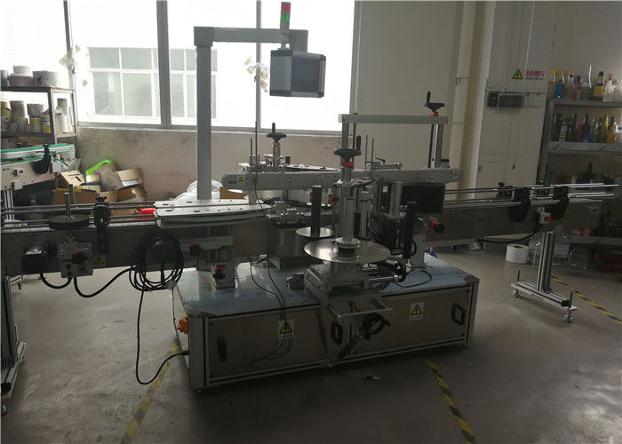 중국 화학품, PLC 및 터치 스크린 통제 시스템을위한 플라스틱 병 레테르를 붙이는 기계 협력 업체