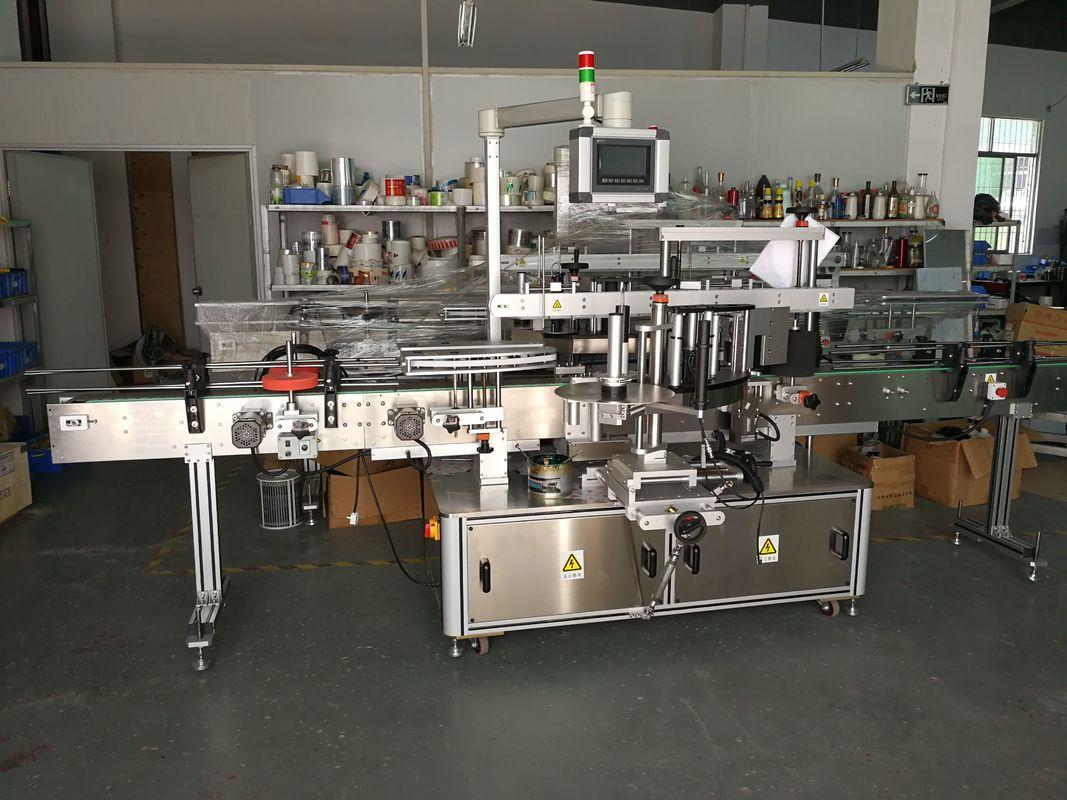 자동 접착 스티커 편평한 병 레테르를 붙이는 기계 고속 5000-1000B / H