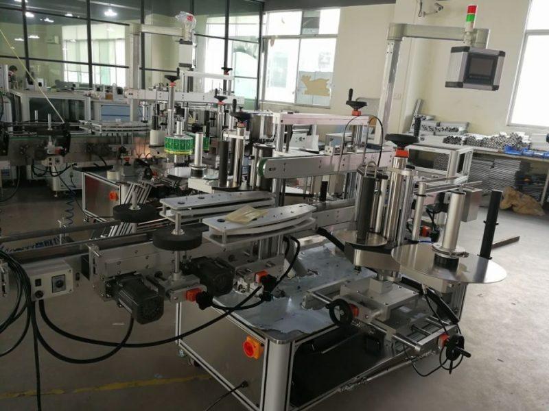 중국 약제 판지를위한 고속 이중 코너 물개 레테르를 붙이는 체계 협력 업체